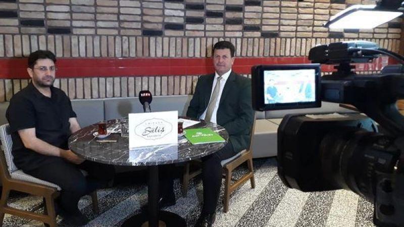 Başkan Soykan TV264'te çalışmaları anlattı