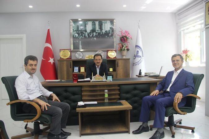 """Trabzon İl Müftüsü Osman Aydın'dan  """"Hayırlı olsun"""" Ziyareti."""