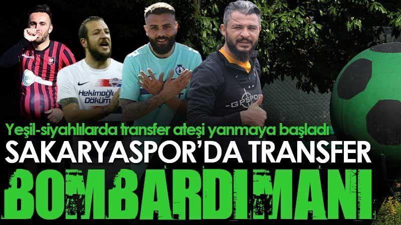 Sakaryaspor'da transfer bombardımanı!