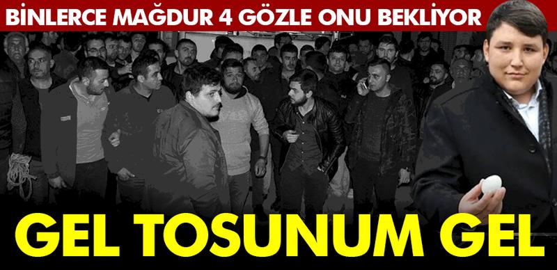 Tosuncuk'un akşam saatlerinde İstanbul'da olacağı iddia edildi