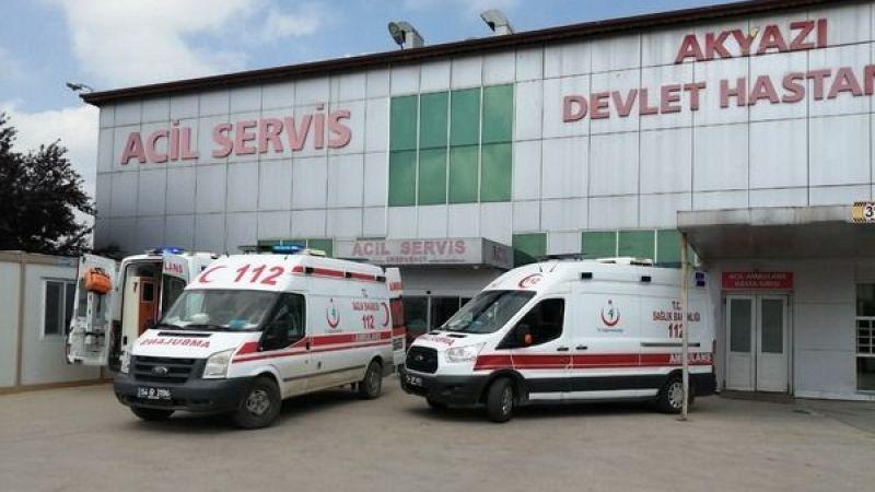 Akyazı'da 2 ayrı kazada 8 kişi yaralandı