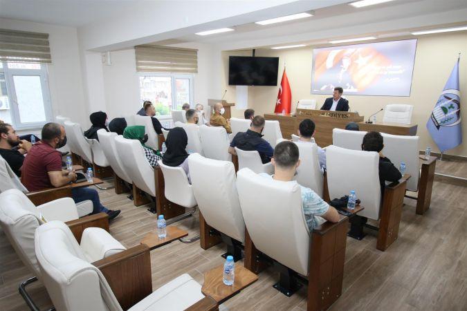 Başkan Soykan Müteahhitlerle bir araya geldi