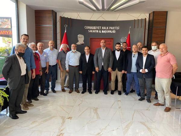 Saadet Partisi'nden CHP'ye ziyaret CHP'den birlik mesajı