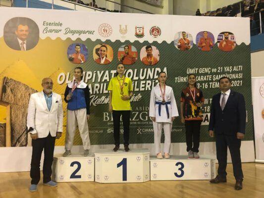 Aylin Şentürk Türkiye Üçüncüsü Oldu