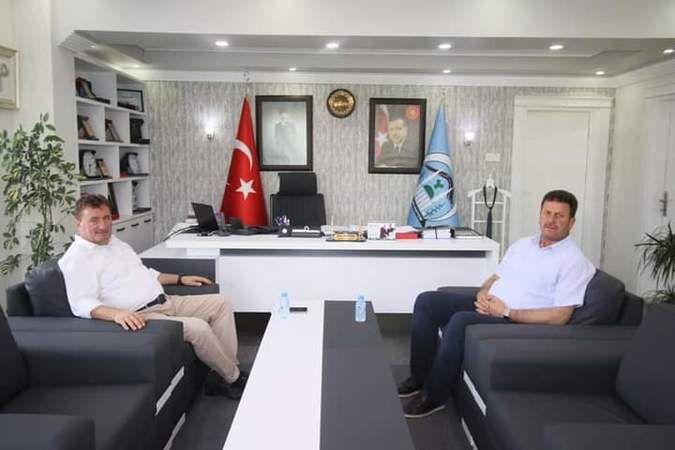 Ferizli belediye başkanından geçmiş olsun ziyareti