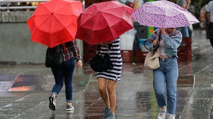 Bayramda yağmur geliyor!