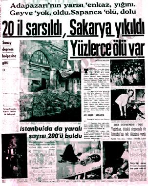 22 Temmuz1967 Depreminin acı veren hikayesi