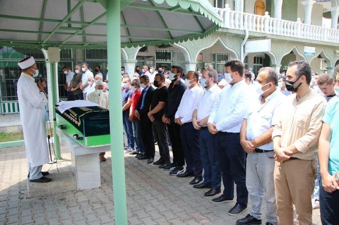 Muhtar Osman Boğaz'ın baba acısı