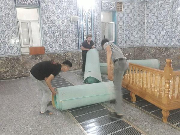 Baraka Camii tadilata girdi