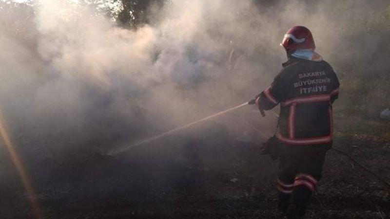 Akyazı'da bugün 8 Mahallede Anız yangını meydana geldi!