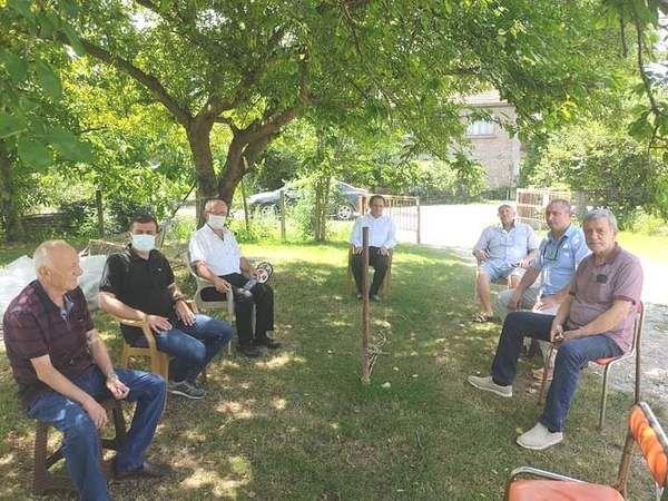 CHP'liler hasta ziyareti yaptı