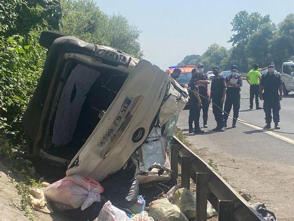 TEM Otoyolu'nda kaza: 6 yaralı