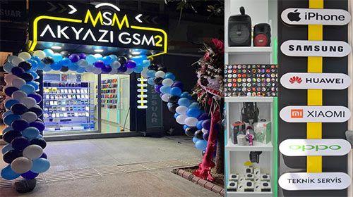 Akyazı GSM2 Çarşı içinde açıldı
