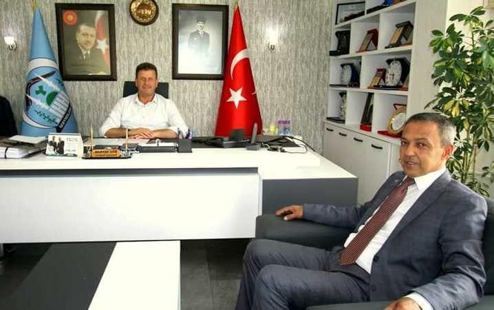 Başkan Soykan'ın Bilecik'ten misafiri vardı