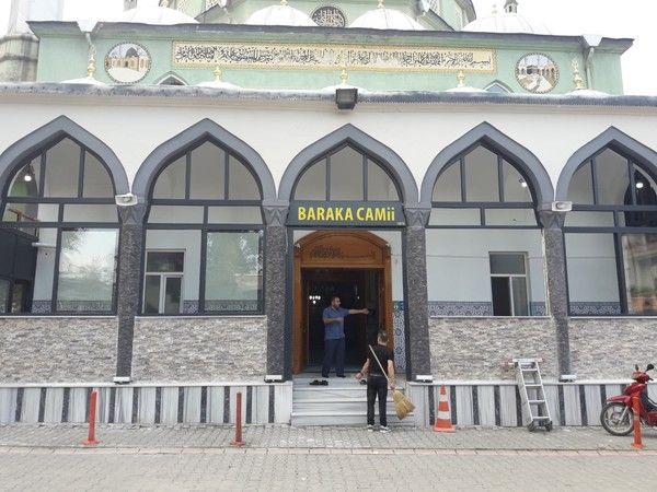 Baraka Cami yeni yüzüne kavuştu