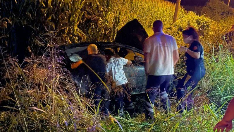 Hafta sonu 5 ayrı kazada 9 kişi yaralandı