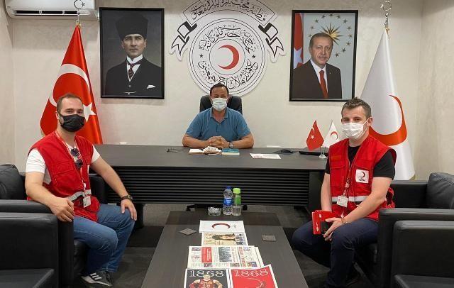 Kızılay Akyazı'da 1286 mülteciye yardım sağlanıyor