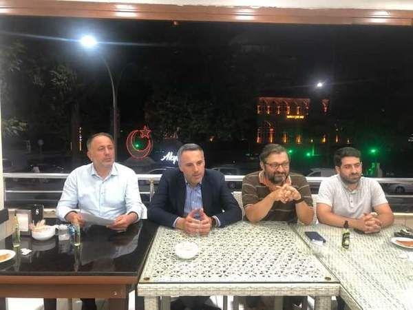 AK Parti ilçe yönetim toplantısına İl Başkanı Tever'de katıldı