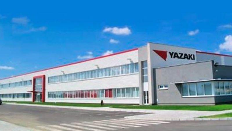 Toyota'dan sonra Yazaki'de üretime ara veriyor