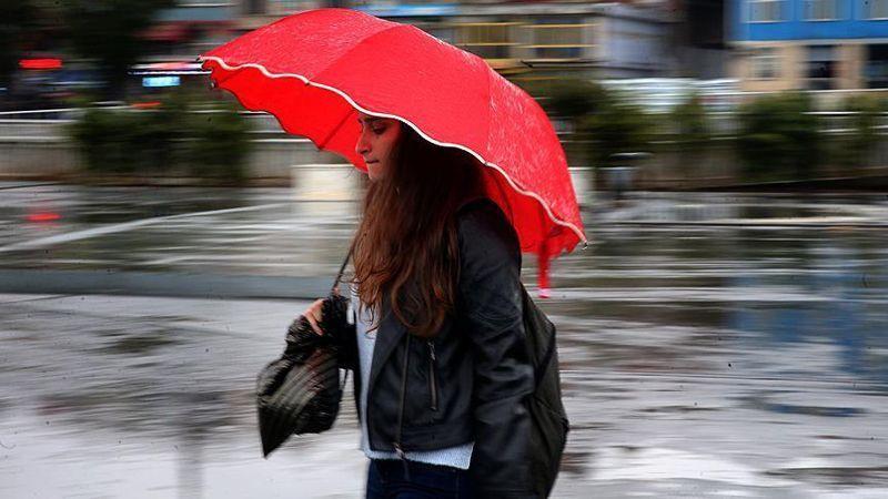 Sakarya için gök gürültülü sağanak yağış uyarısı