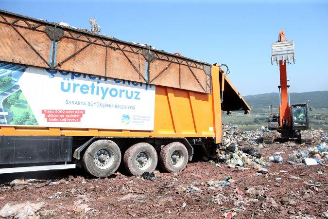 Büyükşehir çöpten 40 bin kişinin elektriğini üretti