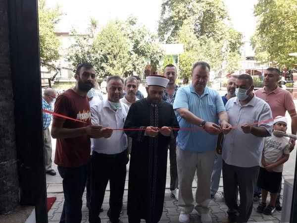 Tadilatı tamamlanan Baraka Caminin açılışı yapıldı
