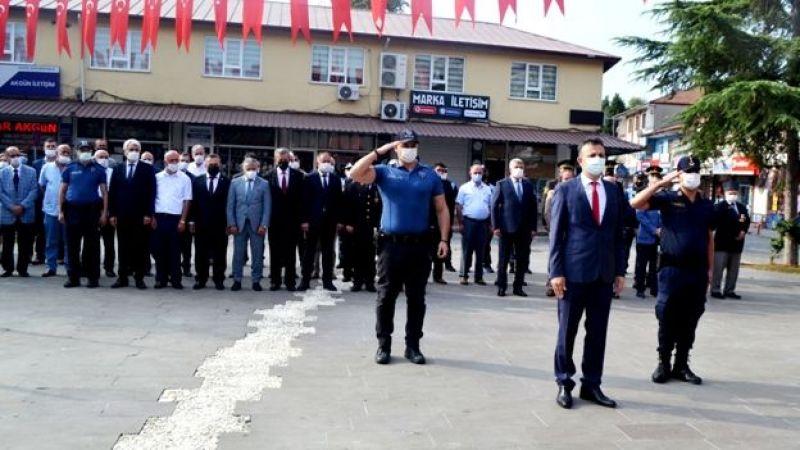 Akyazı'da Zafer bayramı törenle kutlan