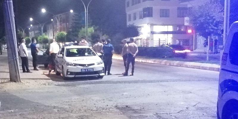 Alkollü sürücü Polis uygulamasına takıldı