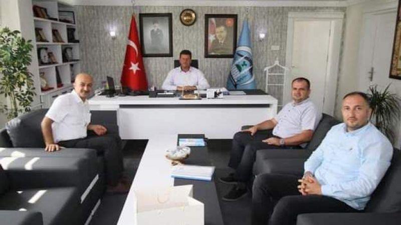Telekomcular Başkan Soykan'ı ziyaret etti