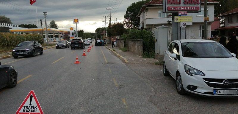 Şehit Furkan Çelik Caddesinde kaza
