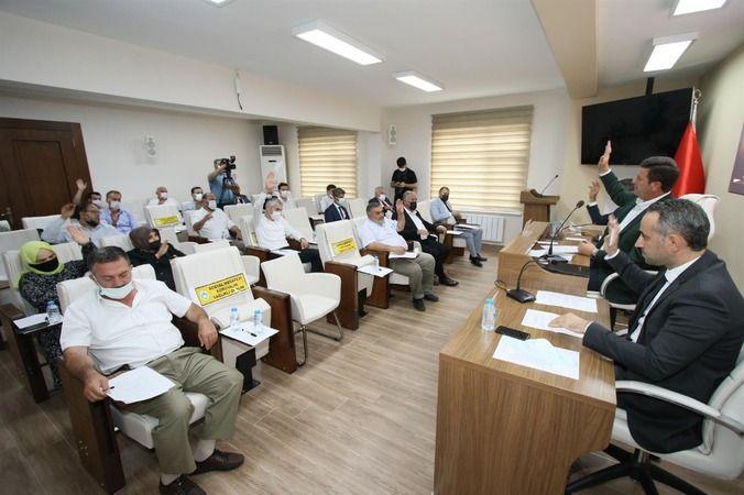 Akyazı Belediyesi Eylül ayı Meclisi toplandı