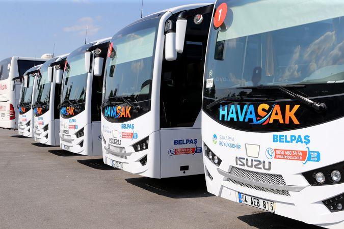 Büyükşehir HAVASAK, 53 bin yolcuyu Sabiha Gökçen'e taşıdı