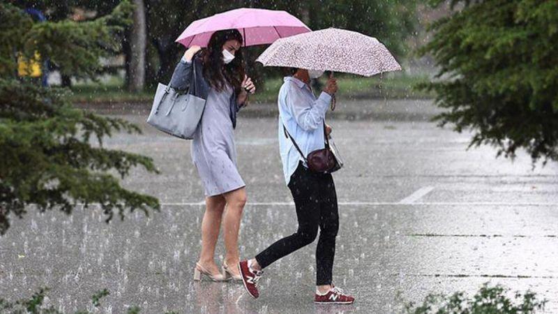 Bugün Şemsiyenizi yanınıza alın!