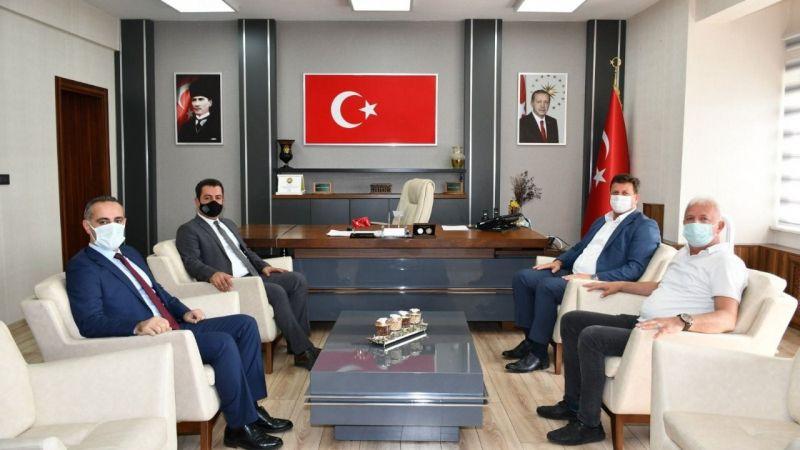 Başkan Soykan'dan yeni İl Milli Eğitim Müdürüne ziyaret