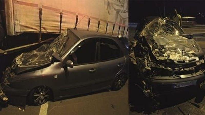 Akyazılı aile Kocaeli de kaza yaptı 2'si Çocuk 5 yaralı