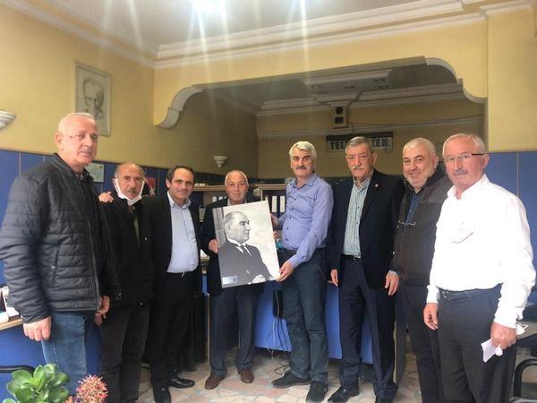CHP'den Akyazı Muhtarlar Derneğine ziyaret