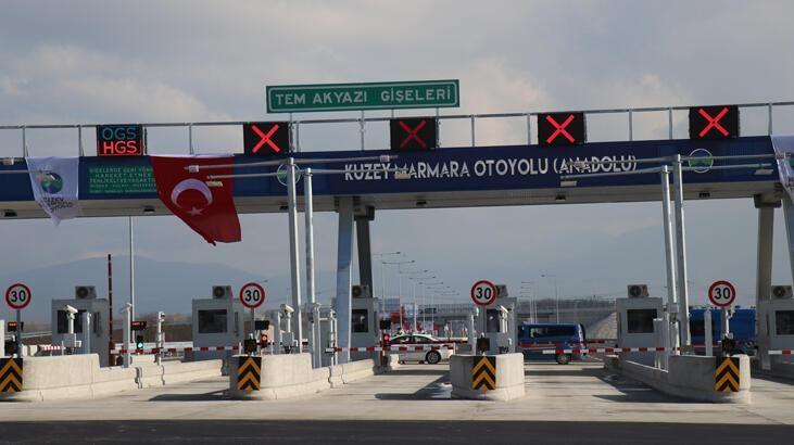 Kuzey Marmara Otoyolunu kullanacaklar Dikkat
