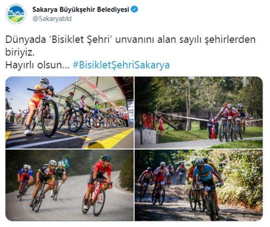 BisikletŞehriSakarya Türkiye gündeminde