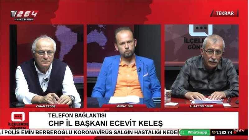 TV264'ün gündeminde Akyazı ve Alaağaç Okulu vardı