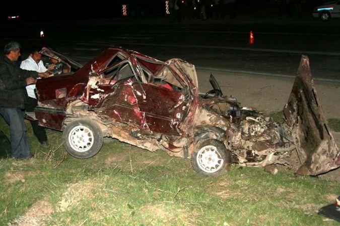 Vezirköprü'da trafik kazası: 1 ölü, 4 yaralı