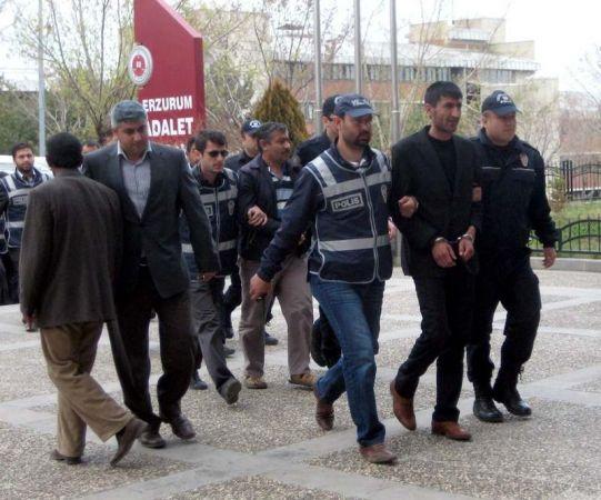 Erzurum polisi suç örgütünü çökertti