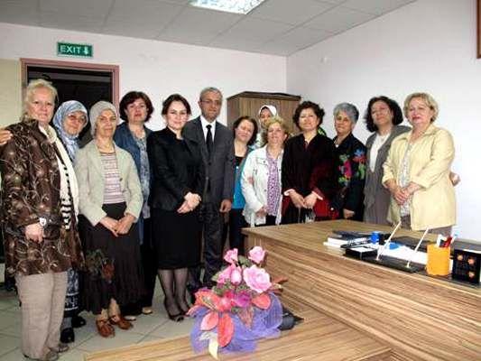 Kadın Meclisi üyeleri Nuh İş Okulu'nu gezdi