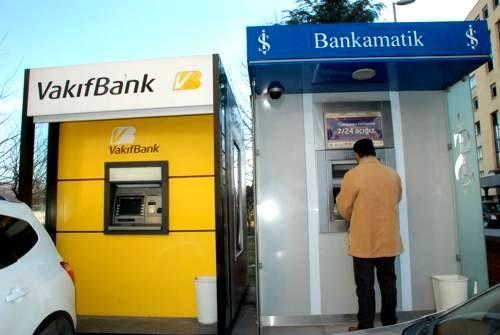 Vakıfbank ATM'leri çalışmadı, emekliler maaş alamadı