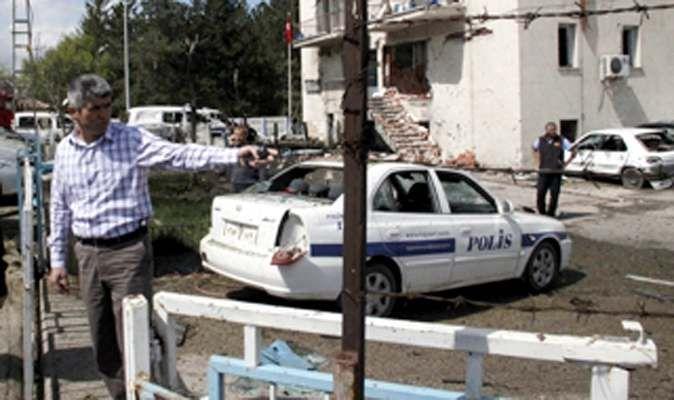Kayseri'deki patlama: 2 şehit, 16 yaralı