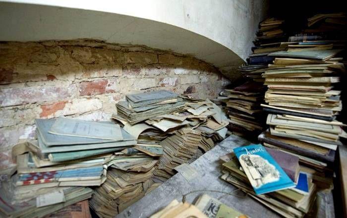 Kütüphanede saklı hazine
