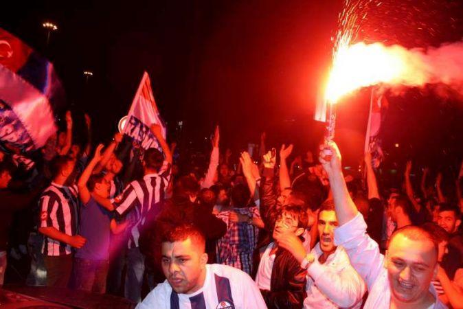 Kasımpaşa taraftarının 'Süper Lig' coşkusu