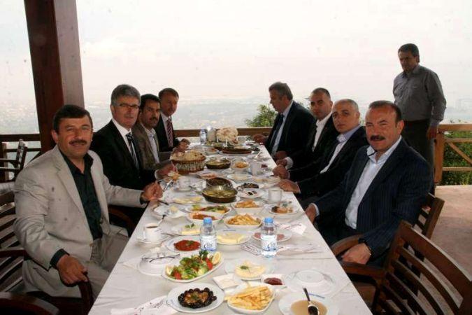 Başkanların Gölcük buluşması