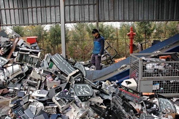 5 yılda 96 ton elektronik atık