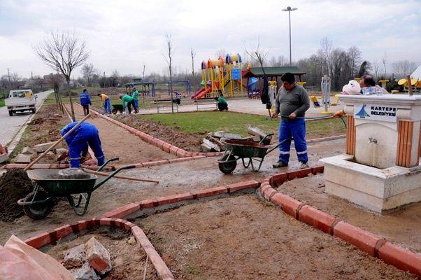 Rahmiye'ye yeni park