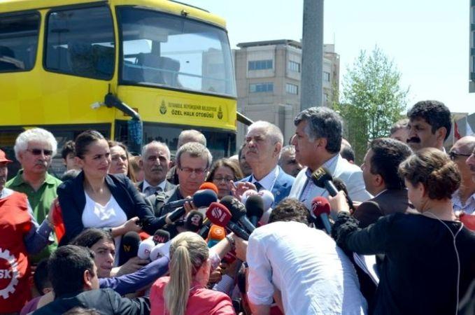 Sendikalar müdahale uyarısına rağmen Taksim için ısrarlı